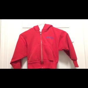 Other - Red sweatshirt jacket 2-4 little boy